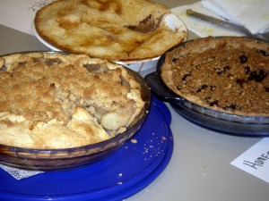 Dedham pie contest