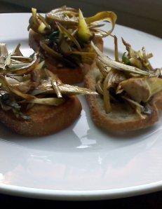 babay artichoke salad