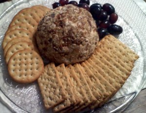 cheese ball hors d'oeuvre