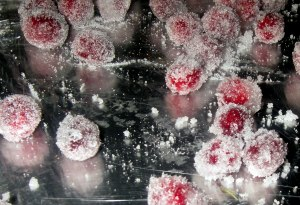 recipe for candied cranberries