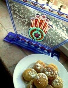 puff pastry doughnut