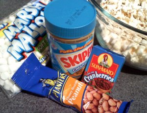 peanut butter popcorn balls