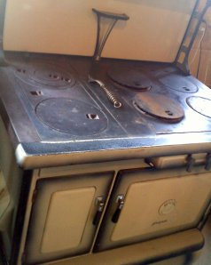 GE Monogram antique stove