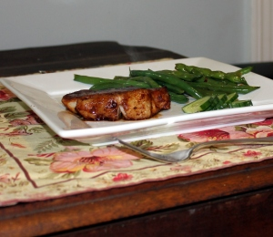 miso marinated pork chops