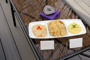 peppade hummus and cape malay curry dip
