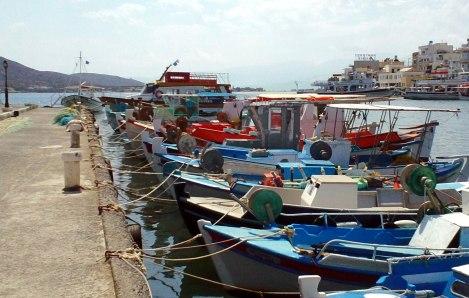 greek boats crete