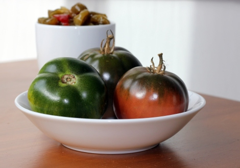 easy green tomato relish